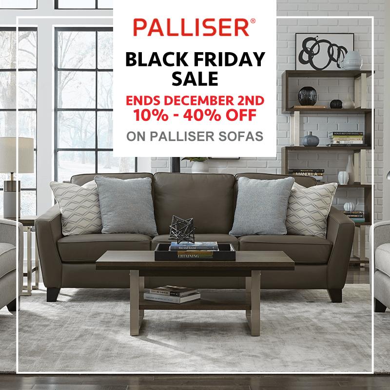 Palliser Black Friday Promotion 2019 (Valid From: November 21, 2019 to December 2, 2019)