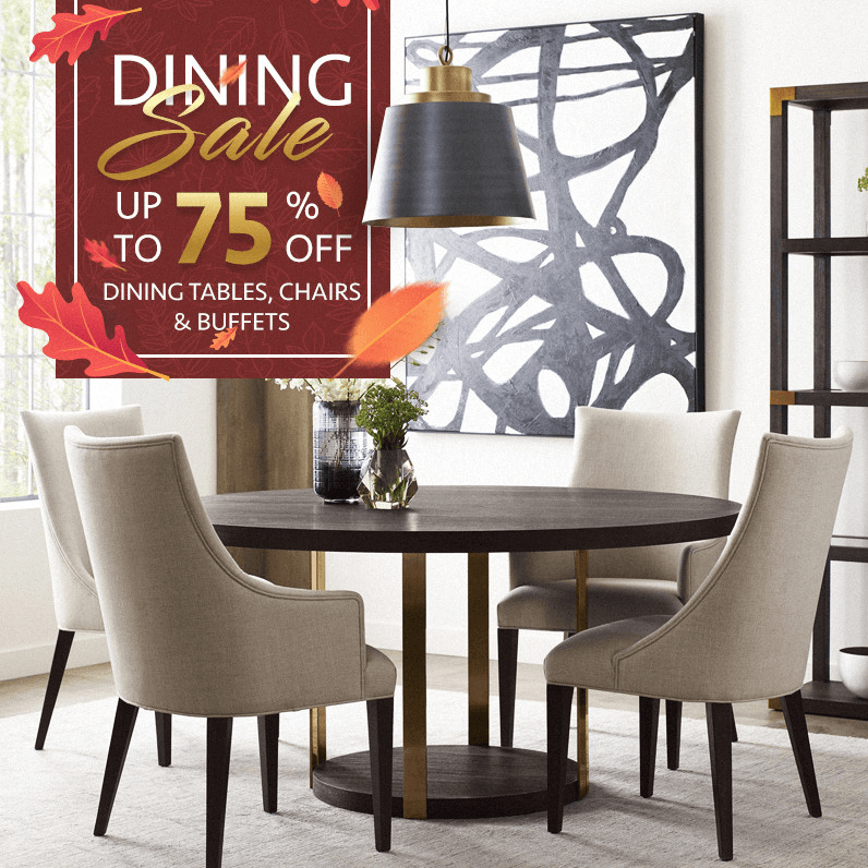 Dining Sale (Valid From: November 8, 2019 to November 24, 2019)
