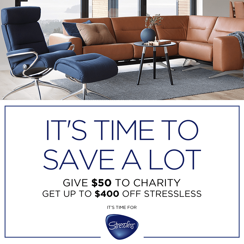 Stressless Charity Promotion (Valid From: November 22, 2019 to January 20, 2020)