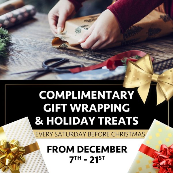 FREE Gift Wrapping (Valid From: December 3, 2019 to December 21, 2019)