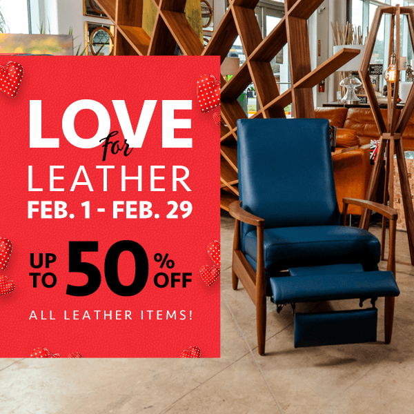 LOVE for LEATHER Sale (Valid From: February 1, 2020 to February 29, 2020)
