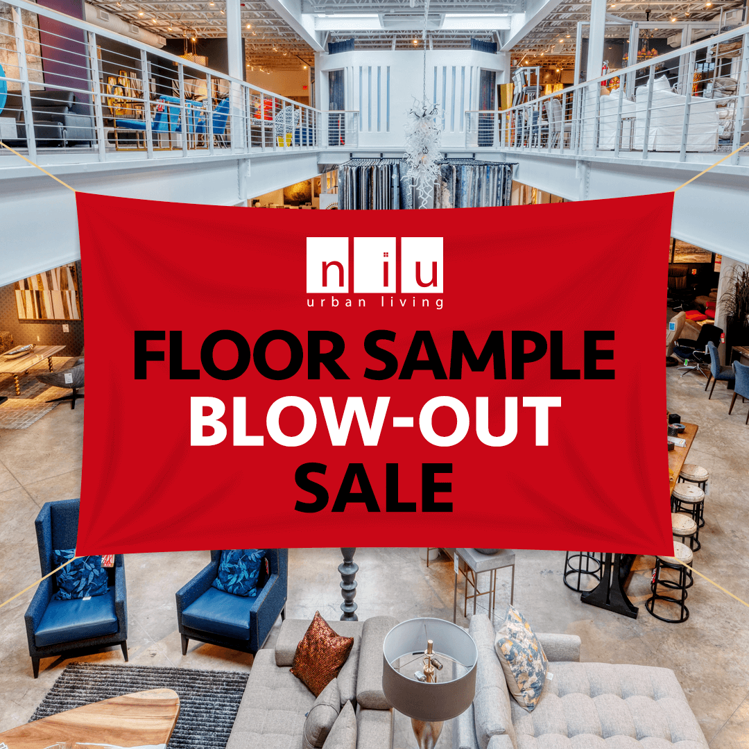 Floor Sample Blow-Out Sale (Valid From: January 3, 2020 to January 23, 2020)