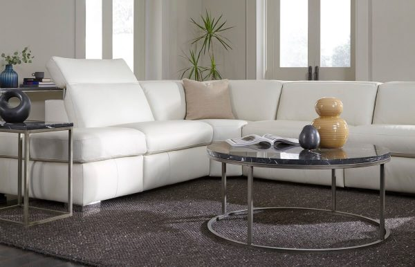 staged motion sectional product gallery image in white