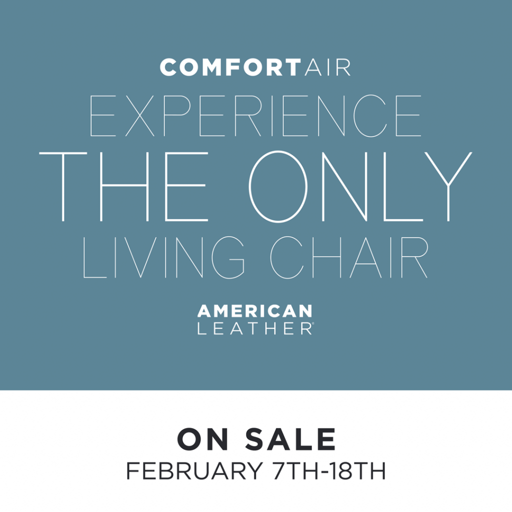 Comfort Air Sale (Valid From: February 7, 2020 to February 18, 2020)