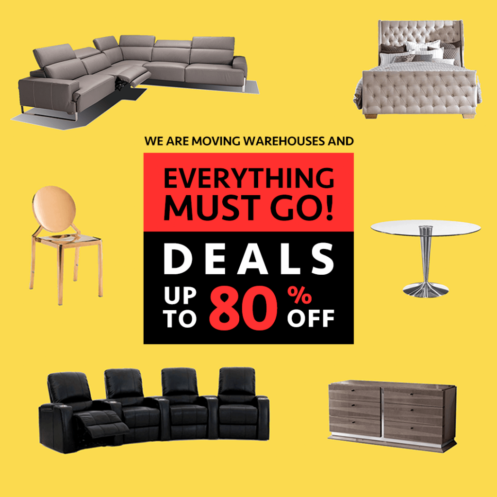 Warehouse Sale (Valid From: March 13, 2020 to March 29, 2020)