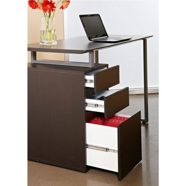 espresso desk staged product image