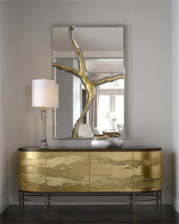 staged mirror