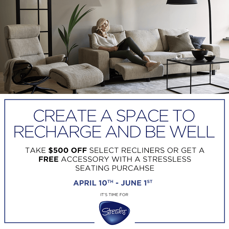 Create a Space to Recharge and Be Well (Valid From: April 10, 2020 to June 1, 2020)