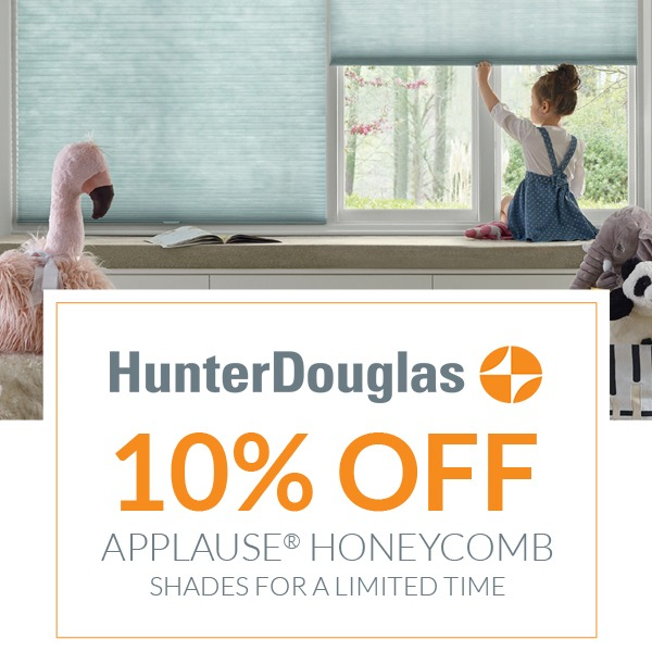 Applause Honeycomb Shades (Valid From: April 16, 2020 to June 1, 2020)