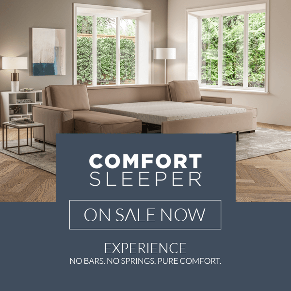 Comfort Sleeper Sale 2020 (Valid From: March 6, 2020 to June 15, 2020)