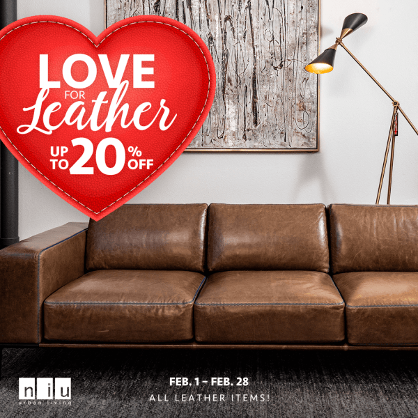 Love For Leather (Valid From: February 1, 2021 to February 28, 2021)